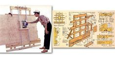 Imágenes Carpentry Tools, Woodworking Skills, Woodworking Plans, Woodworking Projects, Bookshelf Plans, Desk Plans, Diy Pool Table, Diy Boombox, Panel Saw