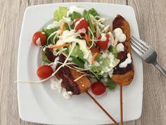 Wieder ein super schnelles Gericht: #Salatmix mit #Putenfilet - köstlich 😋