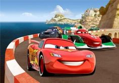 Maxi Decorazione Murales Disney Cars 2