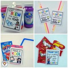"Click through to see TWELVE different FREE End of School Year printables you can use to tell your students ""see ya"" and ""have a great summer"". Great for your preschool, Kindergarten, or grade students! Click through to grab your freebie now! Student Gifts End Of Year, Student Teacher Gifts, End Of School Year, Teacher Stuff, High School, Pre K Graduation, Kindergarten Graduation, In Kindergarten, Graduation Ideas"