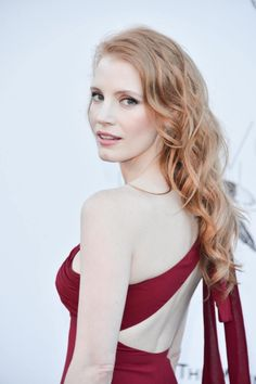 Jessica Chastain! Just saw her in Zero Dark Thirty, and I was reminded how insanely talented this woman is. You go, Jessica <3 -E