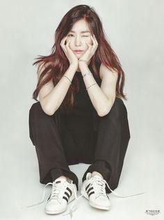 SNSD Tiffany Kpop Fashion | SURE Magazine January 2016