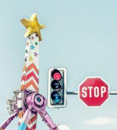 'stop' von Vera Kämpfe bei artflakes.com als Poster oder Kunstdruck $27.72