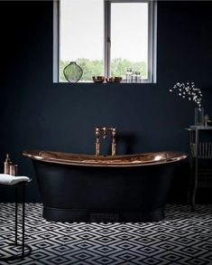 All black everything! #tub #selfcare