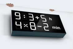 Albert Clock Makes You Solve Math Equations for the