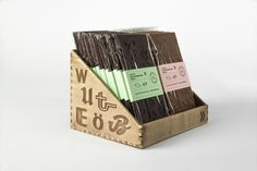 Typographic Chocolate (Student Project) on Packaging of the World - Creative Package Design Gallery