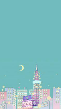 Funds pixels - Nearly a month - Wallpaper pixel Slack Cafe - Ideas wallpaper Cute Pastel Wallpaper, Aesthetic Pastel Wallpaper, Kawaii Wallpaper, Aesthetic Wallpapers, Cute Wallpaper Backgrounds, Wallpaper Iphone Cute, Pretty Wallpapers, Galaxy Wallpaper, Cartoon Wallpaper