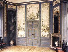 Chinese Pavilion at Drottningholm Palace, Sweden. #interior #decoration