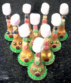 Ice Cream Cone Clown Hats