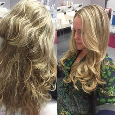 A gorgeous #transformationtuesday BLO/OUT by @crystal_clear04071  #bloout #blowdrybar #blowout #blowdry #hairgram #hairstyle #hairstylist #phillysalon #phillyhair #fb #twitter