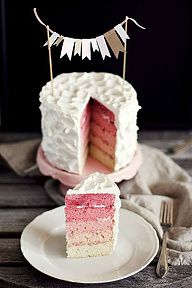 Ombre-cake