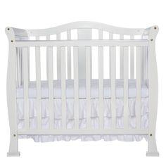 AmazonSmile : Dream On Me Addison 4 in 1 Convertible Mini Crib, White : Baby