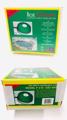 1 250-Watt Farm Innovators P-418 Premium Cast Aluminum Floating Pond De-Icer