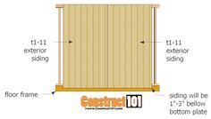 Firewood Shed Plans 12x20 Shed Plans, Small Shed Plans, Shed House Plans, Lean To Shed Plans, Free Shed Plans, Small Sheds, Shed Building Plans, Wood Storage Sheds, Storage Shed Plans