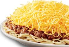Whenever you're feeling good and hungry.. it's Skyline time. ♥ Chili, Cincinnati style.