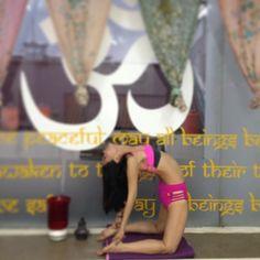 chikum wear arrival at YOga@42 bikram yoga jakarta