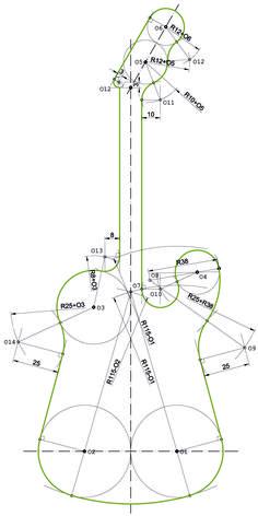 ejercicio tangencias y enlaces