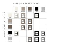 Modern Home Style Color Combinations