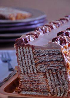 gâteau de fête express aux petits-beurre