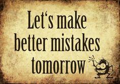 No tengas miedo a cometer errores