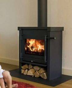 Nog even Ramon overtuigen :-) Stove Fireplace, Home Trends, Next At Home, Home Improvement, Sweet Home, New Homes, Home Appliances, Cottage, Charnwood C4