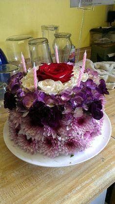 Teleflora Flower Cake! So cute!