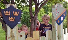 DIY Kids Play Castle - Live Dan 330