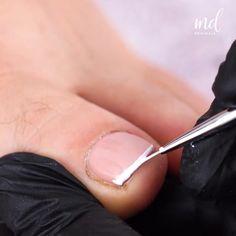 Baked Scallops, Gel Nails At Home, Nail Art Videos, Oddly Satisfying, Feet Care, Nail Tutorials, Toe Nails, Pretty Nails, Body Care