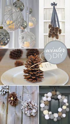 44 best After Christmas Winter Decor images on Pinterest   Christmas ...