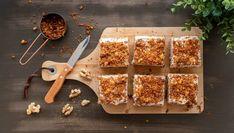 Mrkvové řezy se skořicovým krémem - Recept na nejen Paleo snadno Lucca, Paleo, Beach Wrap, Paleo Food