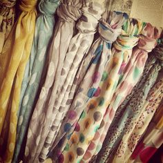 Gorgeous Scarves available at ATP. Colours are stunning.xx
