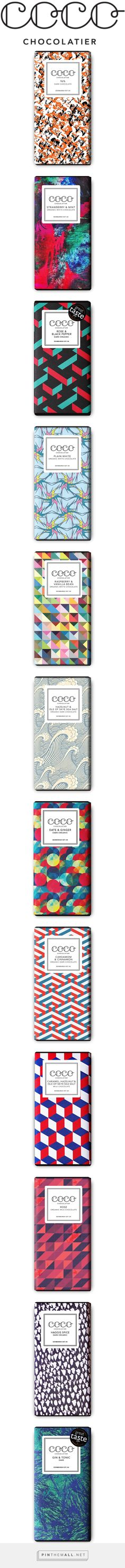 COCO CHOCOLATIER curated by Packaging Diva PD. Yummy chocolate packaging for UK Chocolate Week.