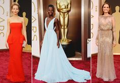 award-worthy dresses from the Oscars Red Carpet 2014