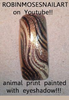 diva. robin moses hand painted nail art  http://www.youtube.com/watch?v=00gIqTm_JOo