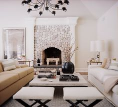 Lovely, unique fireplace. Designer: Patrik Lönn. (Via desiretoinspire.net)