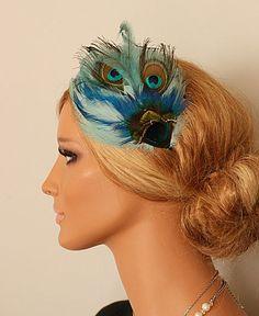 RATNA  peacock headband by portobello on Etsy, $39.00