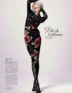 Ai Tominaga: Editorial for Harper's Bazaar Japan, June 2010