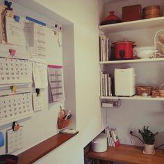 キッチンパネル/パントリー/断捨離/整理整頓/ホワイトボード/ニッチ…などのインテリア実例 - 2014-07-21 08:30:07 | RoomClip(ルームクリップ)