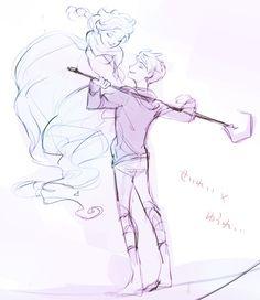 Jelsa (Jack Frost & Queen Elsa) じしゃく