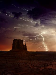 The Southwest has some great lightning storms! Photo ByMiguel Angel Martín Campos