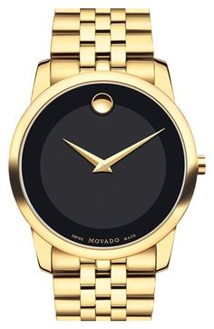 Movado 'Museum' Bracelet Watch, 40mm available at #Nordstrom