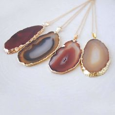 Enter to win an agate slice necklace on thestyleworthwhile.com!!