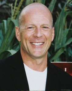 Bruce Willis - bald and beautiful