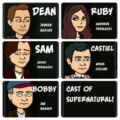 Supernatural Biststripped!