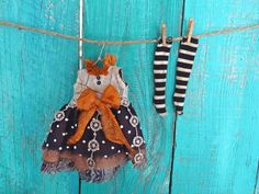 Hey, I found this really awesome Etsy listing at https://www.etsy.com/listing/201891251/blythe-doll-outfit-ooak-october-31st
