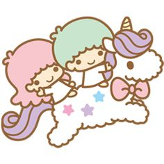 【2013】Line Stickers 雙星仙子的閃亮日子 ★Little Twin Stars★