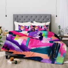 Laura Fedorowicz Tulip Abstract Comforter | Deny Designs