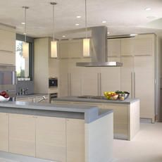 キッチン用具はなるべく収納棚に片づけ、生活感を出さない様にするとスッキリしモダンに感じますね。 写真の様なインテリア家具の様な食器棚を選ぶと良いでしょう。