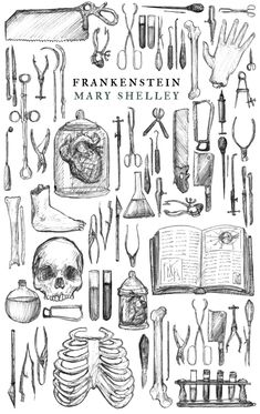 Illustrations for Mary Shelley's Frankenstein. By Hari Conner