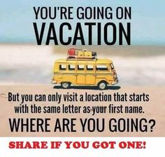 I can only think of Ohio and I'm not so excited for that vacay. But I'm going to cheat and just use Max's, Maldives here we come 🌴🌴🌴 Comment your next vacation below! Facebook Engagement Posts, Social Media Engagement, Customer Engagement, Facebook Group Games, Facebook Party, For Facebook, Interactive Facebook Posts, Fb Games, Body Shop At Home